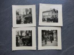 Saint-Benoit, Le Chalet De Venise,  Lot De 4 Photos Vers 1950, Vézien ?  ; Ref161 PH 22 - Fotos