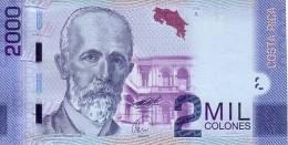 COSTA RICA   2 000 Colones  Daté Du 02-09-2009     ***** BILLET  NEUF ***** - Costa Rica
