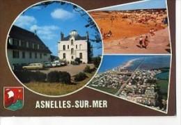 CP14509 - ASNELLES SUR MER - Carte Souvenir, Vues Diverses - Autres Communes