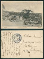 PORTUGAL -  GUINÉ [ 0014 ] - BAFATÁ - UM TRECHO DA VILA INDIGENA - Guinea-Bissau