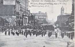 U.S. P.C.  PARADE INAUGURATION  WOODREW  WILSON   1917  (o) - United States