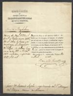 J78-HISTORIA POSTAL CARTA PLICA JUDICIAL COMPLETA 30-4-1855,VALENCIA ALICANTE .MARCA:ADMINISTRACION DE BIENES ADMINISTRA - Manuscritos