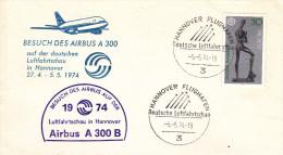 Hannover 1974 - Erst Besuch Airbus A 300 - 1er Vol Inaugural Flight - [7] République Fédérale