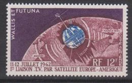 Wallis Et Futuna N° PA 20 *** 1ère Liaison TV Satellite Europe - Amérique - 1962 - Poste Aérienne