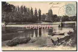 CPA Les Rives De La Marne Le Barrage De Joinville Le Pont - Joinville Le Pont