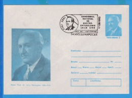 National Congress Of Gastroenterology Doctor Iuliu Hatieganu Medicine Romania Postal Stationery - Medicine