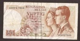 België 50 Frank 14-5- 1966 -NO: 1240 G 7088 - [ 6] Treasury