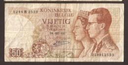 België 50 Frank 14-5- 1966 -NO: 1244 R 2533 - 50 Francs