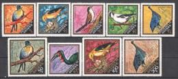 45-404 // GUI. - 1971  BIRDS Of GUINEA   Mi  573/91 ** - Guinea (1958-...)