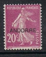 ANDORRE N°8 N* - Andorre Français