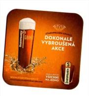 Mild Beer Granat, Brewery Staropramen In City Prague - Sous-bocks