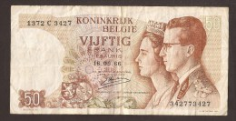 België 50 Frank 14-5- 1966 -NO: 1372 C 3427 - [ 6] Treasury