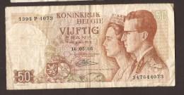 België 50 Frank 14-5- 1966 -NO: 1391 P 4073 - [ 6] Treasury