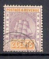 BRITISH GUIANA, Postmark ´LEGUAN´on Ship Stamp - British Guiana (...-1966)