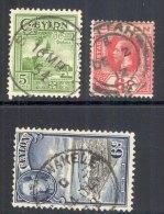 CEYLON, Postmarks Spring Valley, Pettah, Talawakele - Ceylon (...-1947)
