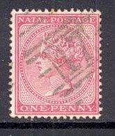 NATAL, Postmark ´BARRED NUMERAL 47´on Q Victoria Stamp - Zuid-Afrika (...-1961)