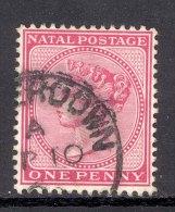 NATAL, Postmark ´CAMPERDOWN´on Q Victoria Stamp - Zuid-Afrika (...-1961)