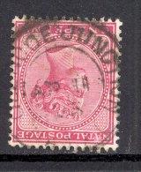 NATAL, Postmark ´GLENCOE JUNCTION´on Q Victoria Stamp - Zuid-Afrika (...-1961)