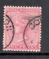 NATAL, Postmark ´GOURTON´on Q Victoria Stamp - Zuid-Afrika (...-1961)