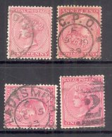NATAL, Postmarks Harding, 2 In Bars, G.P.O., Ladysmith - Zuid-Afrika (...-1961)