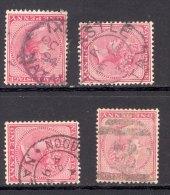 NATAL, Postmarks Ixopo, Newcastle, Noodsberg, 2 In Bars - Zuid-Afrika (...-1961)