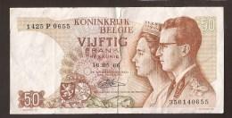 België 50 Frank 14-5- 1966 -NO: 1425 P 0655 - [ 6] Treasury