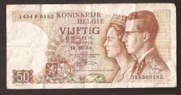 België 50 Frank 14-5- 1966 -NO: 1434 F 0182 - [ 6] Treasury
