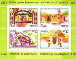 Tajikistan 2013 Architecture  SS Of 4v MNH - Islam