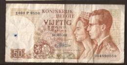 België 50 Frank 14-5- 1966 -NO: 1460 P 0556 - [ 6] Treasury