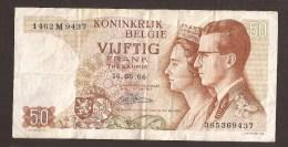 België 50 Frank 14-5- 1966 -NO: 1462 M 9437 - [ 6] Treasury