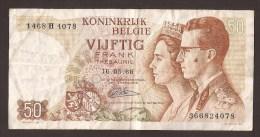 België 50 Frank 14-5- 1966 -NO: 1468 H 4078 - [ 6] Treasury