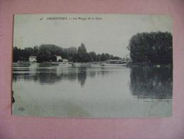 CP  ARGENTEUIL   N°45 LES BERGES DE LA SEINE - Argenteuil