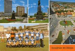 NIS Foodball Team RRR Post Card - Serbia