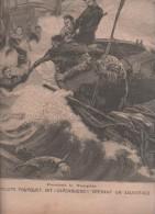 LE PETIT PARISIEN 20 12 1896 - SAUVETEUR FOURQUET CARCABUENO BIARRITZ - CUBA - FINISTERE RAZ DE SEIN PHARE DE LA VIEILLE - Le Petit Parisien