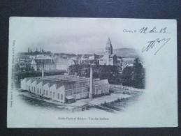CLUNY - 71 - CPA DOS SIMPLE DE 1903 - ECOLE D'ARTS ET MÉTIERS - VUE DES ATELIERS - 220614 - - Cluny