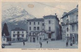 Barzio.valsassina-piazza Garibaldi-1937 - Lecco