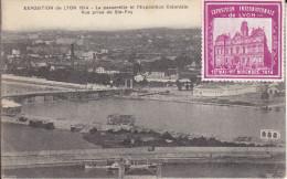 Expo Internationale De Lyon 1914 : Passerelle Et Expo Coloniale - Lyon 7