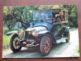 PANHARD 19 Coupé Chauffeur 1914 / ( Pharma Trophirès / 16 ) Anno 1966 ( Zie Foto Voor Details ) !! - Cartes Postales