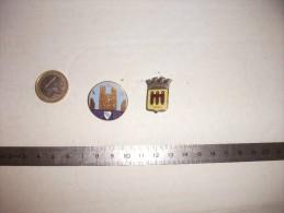 Lot De 2 Insignes FNB, 1950& 51 - Organizations