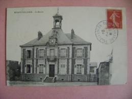 CP BOISSY L AILLERIE  LA MAIRIE - ECRITE EN 1907 - Boissy-l'Aillerie