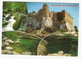 CPM CARTE POSTALE MODERNE - 84 - Fontaine De Vaucluse  écrite  Timbrée 1988 - Autres Communes