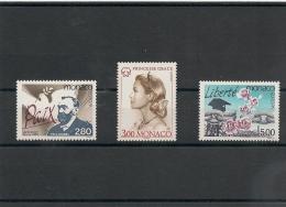 MONACO Années 1995/96 Europa N°Y/T: 1987/88-2037-2104/105** - Monaco