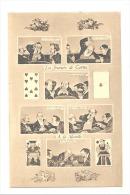 Les Joueurs De Cartes - Cards Players - La Manille - Jeux - Sous Forme De BD Humoristique  (1741) B150 - Cartes à Jouer