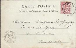 Cachet Convoyeur  ST BERON  A  VOIRON - Marcophilie (Lettres)