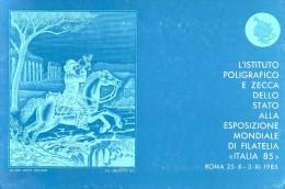 Italia '85 Folder IPZS Con 4 Foglietti Erinnofili - Erinnofilia