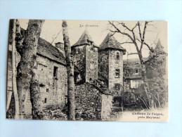Carte Postale Ancienne : Chateau De FAIGES , Près MEYSSAC - Andere Gemeenten