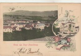 Gruss Aus STEYR-Neuschönau-Carte 2 Vues...1904 - Steyr