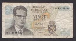 België Belgique Belgium 15 06 1964 20 Francs Atomium Baudouin. 3 G  4308060 - [ 6] Tesoreria