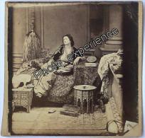 Photo XIX Femme Oriental Women 1870 TURQUIE ? TURKEY ? - Photos