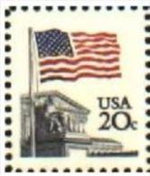 USA 1981 Flag Stamp 20c MNH SC 1894 YV 1312 MI 1522 A SG 1923 - Ungebraucht